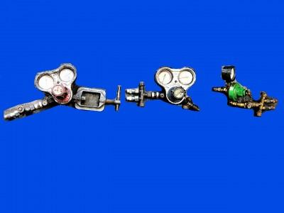 ガス溶接、ガス溶断用メーター