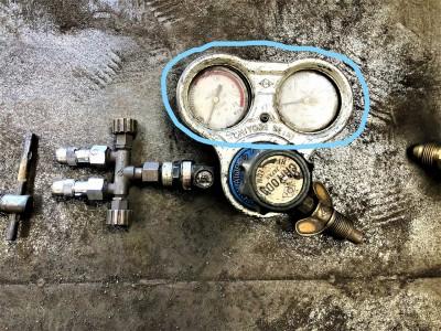 酸素用メーター