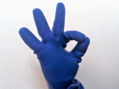 耐油性ゴム手袋
