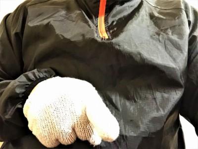 防振用手袋