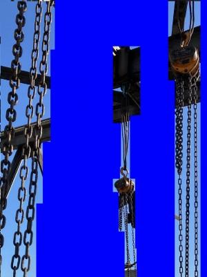チェーンブロック 合い吊り